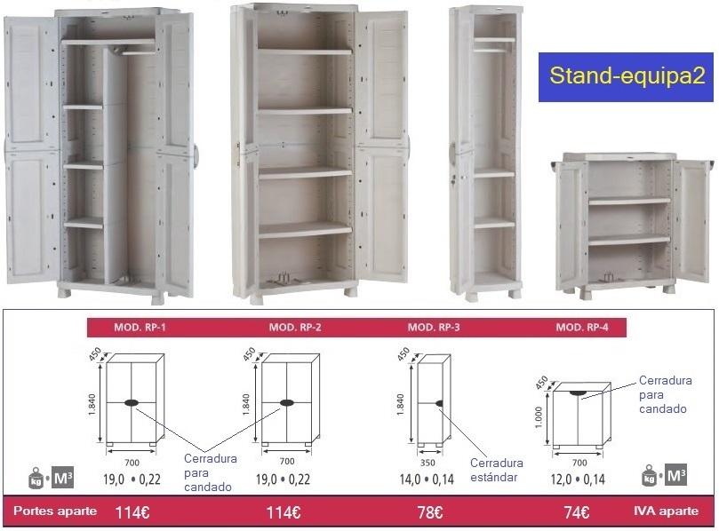 Armarios de pl stico para archivo y exterior Armarios de pvc para exterior